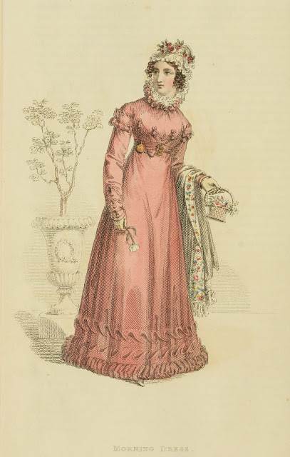 Ser2 v13 1822 Ackermann's fashion plate 4 - Morning Dress