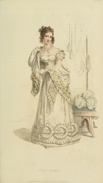 Ser2 v13 1822 Ackermann's fashion plate 5 - Full Dress