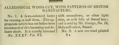 Ackermanns Fabric samples Nov 1811
