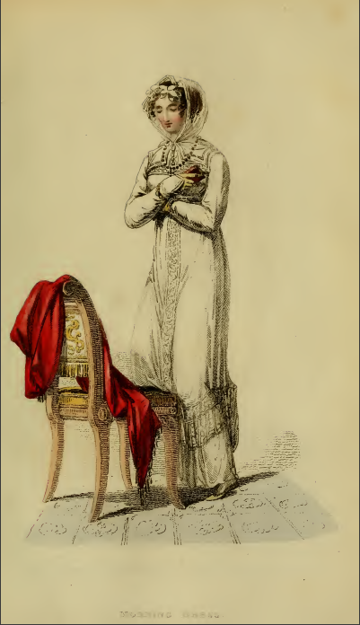 "Ackermann's Fashion Plate 26, October 1813: ""Morning Dress."""