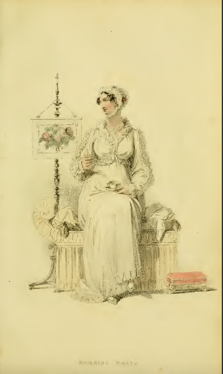 Ackermanns Fashion plate 25 April 1814: Morning Dress