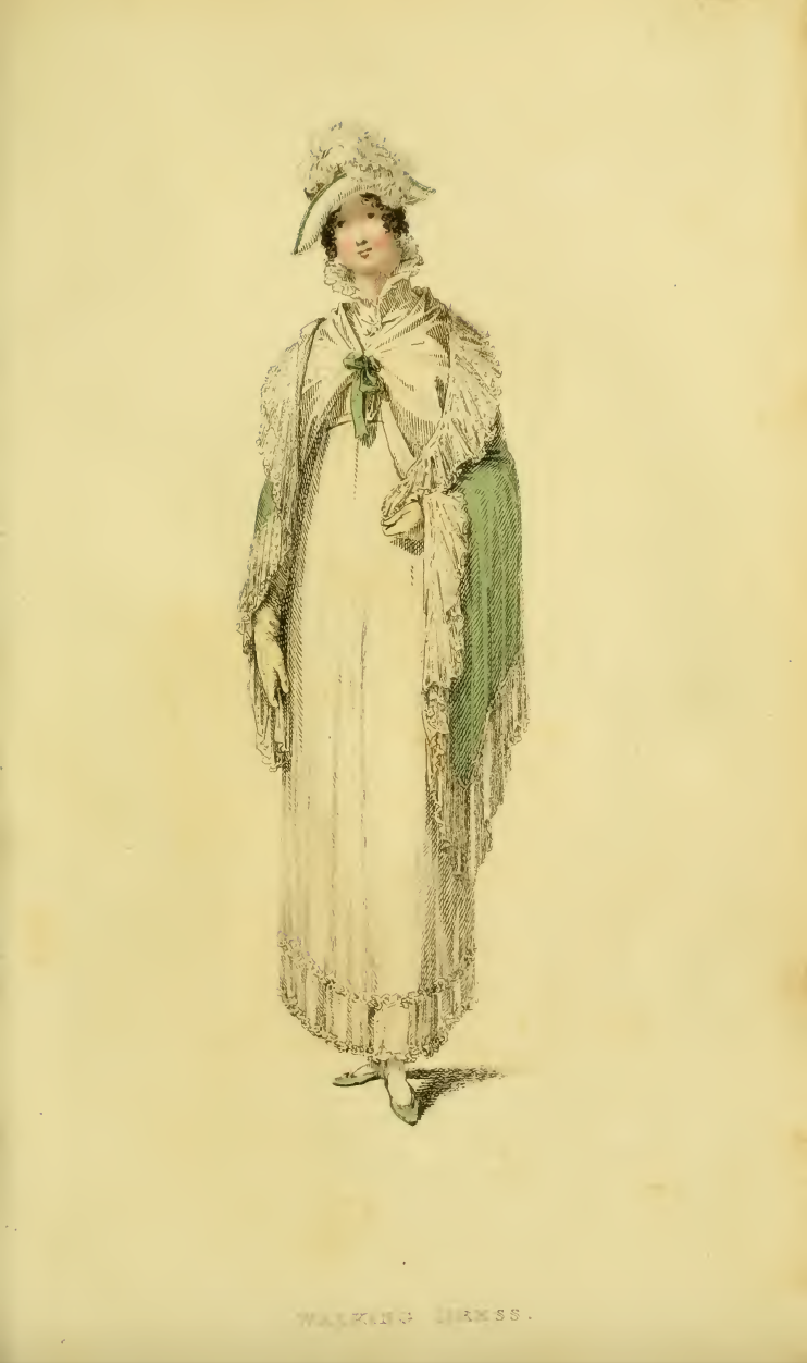 Ackermanns May 1814, Plate 31: Walking Dress