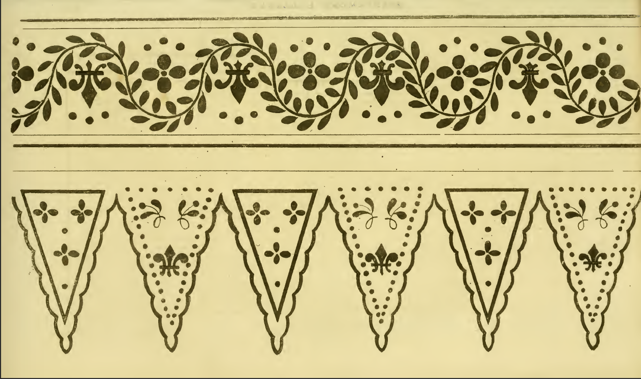 Ackermann's 1814 embroidery designs