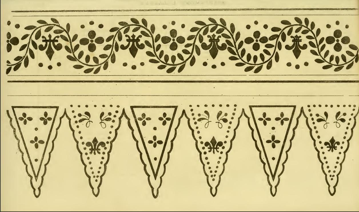 Ackermann's 1814 embroidery designs