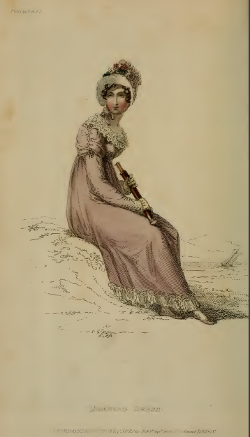 Morning Dress, Ackermann's September 1814