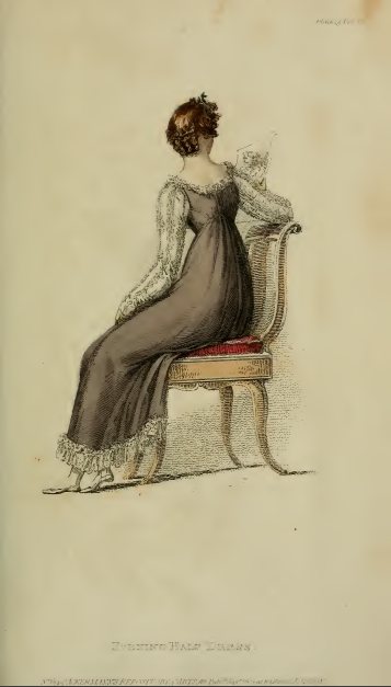 Evening Half-Dress, Ackermann's September 1814