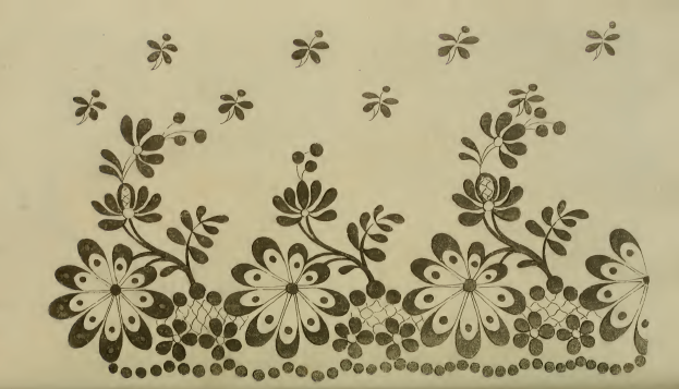 Needle-work pattern, Ackermanns October 1814