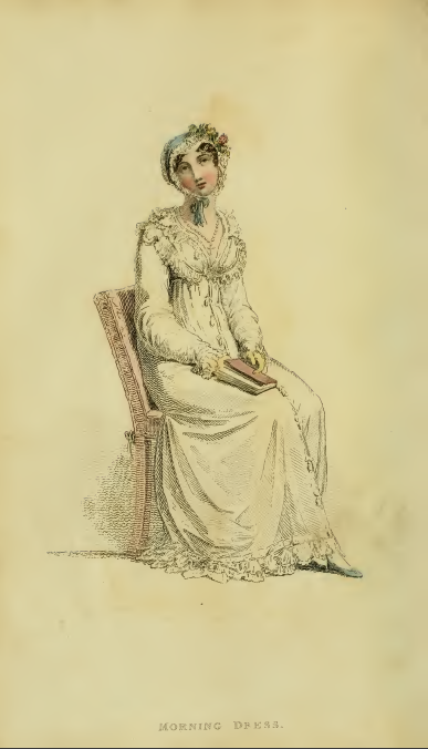 Ackermann's fashion plates, February 1815, plate 8: morning dress