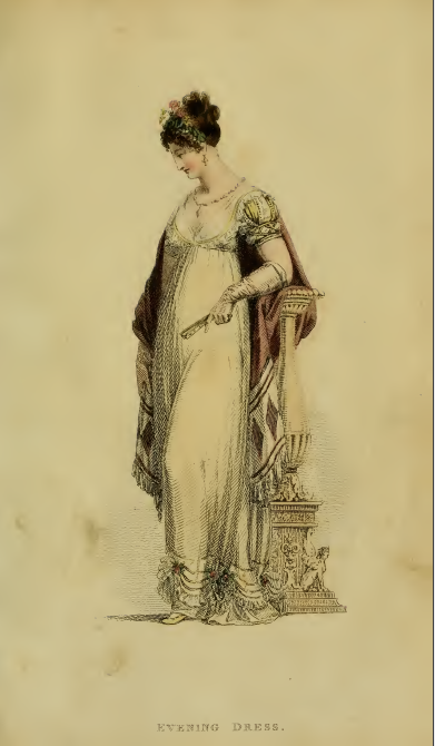 Ackermann's Fashion plate, February 1815, plate 9