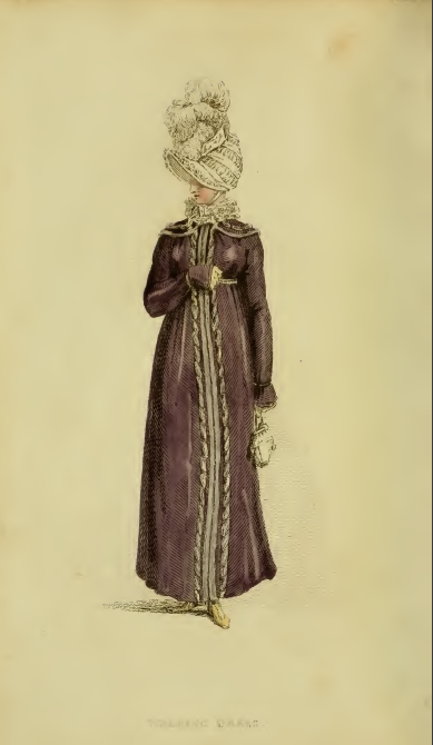 Ackermann's fashion plates March 1815, plate 13: Walking Dress
