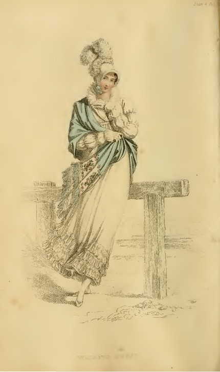 Ackermanns Fashion Plates July 1815: Walking Dress