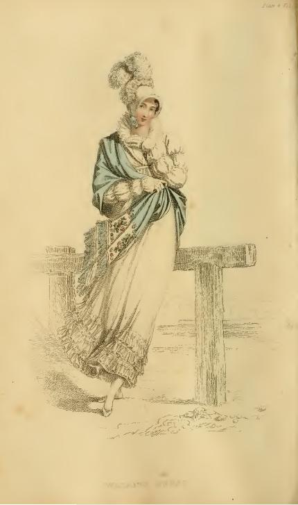 Ackermanns Fashion Plates July 1815: Walking Dress