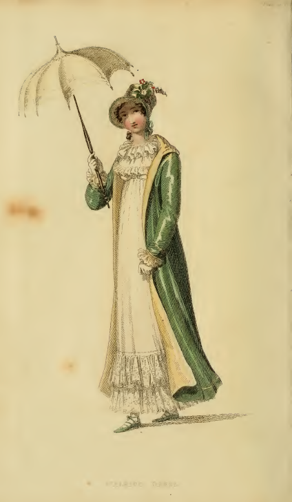 Ackermann's May 1815, plate 24: Walking Dress