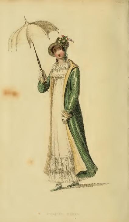 Ackermann's May 1815, plate 24: Walking Dress