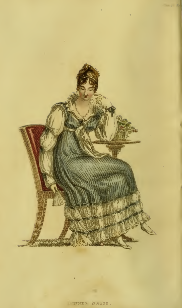 Ackermann's Fashion plate #16 September 1815