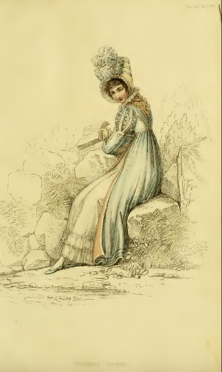 Ackermann's Fashion Plate October 1815: Walking Dress