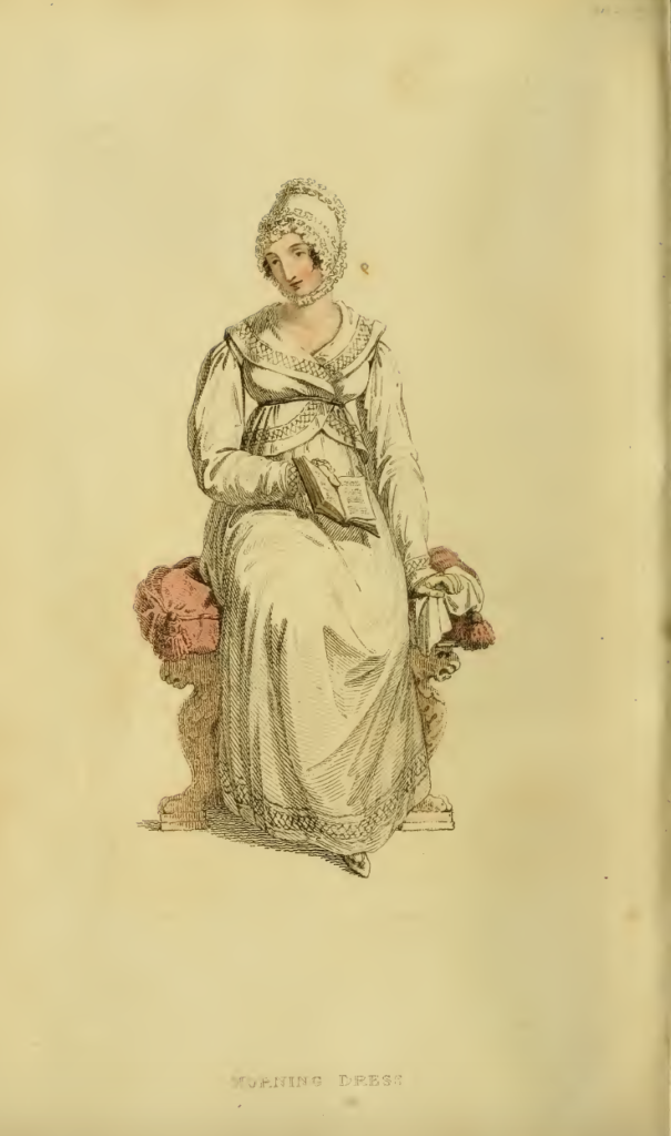 Ackermanns Fashion Plates November 1815: Morning Dress