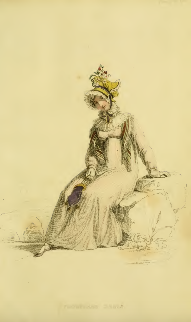 Ackermanns Fashion Plates November 1815: Promenade Dress
