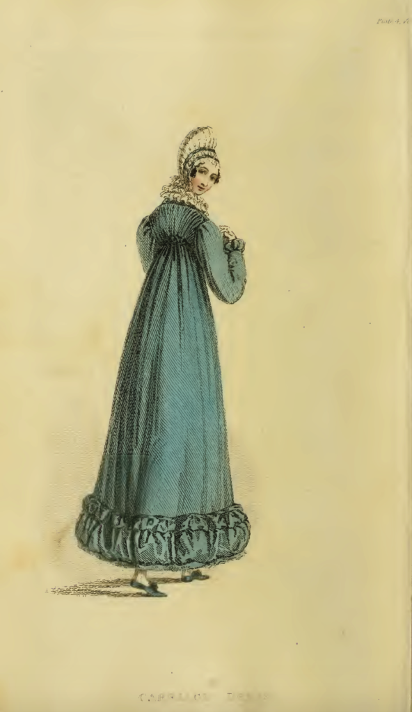 Ackermann's Fashion Plates, January 1816. Plate 4: Morning or Carriage Dress