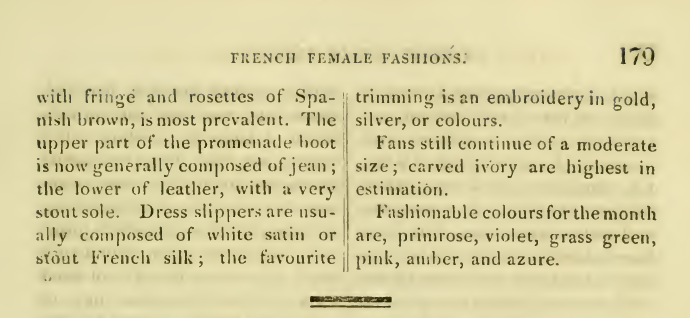 Ackermann's March 1816 General Observations on Fashion 3