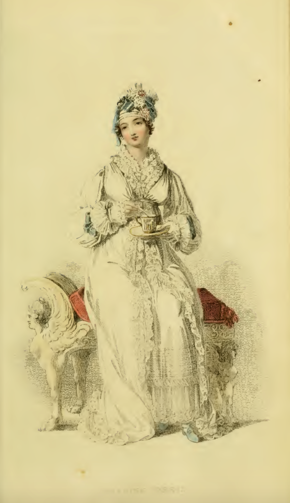 Ackermann's May 1816, plate 29: Carriage Dress