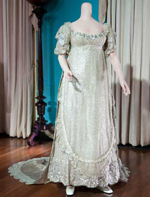 Princess Charlotte of Wales' Wedding Dress 1816
