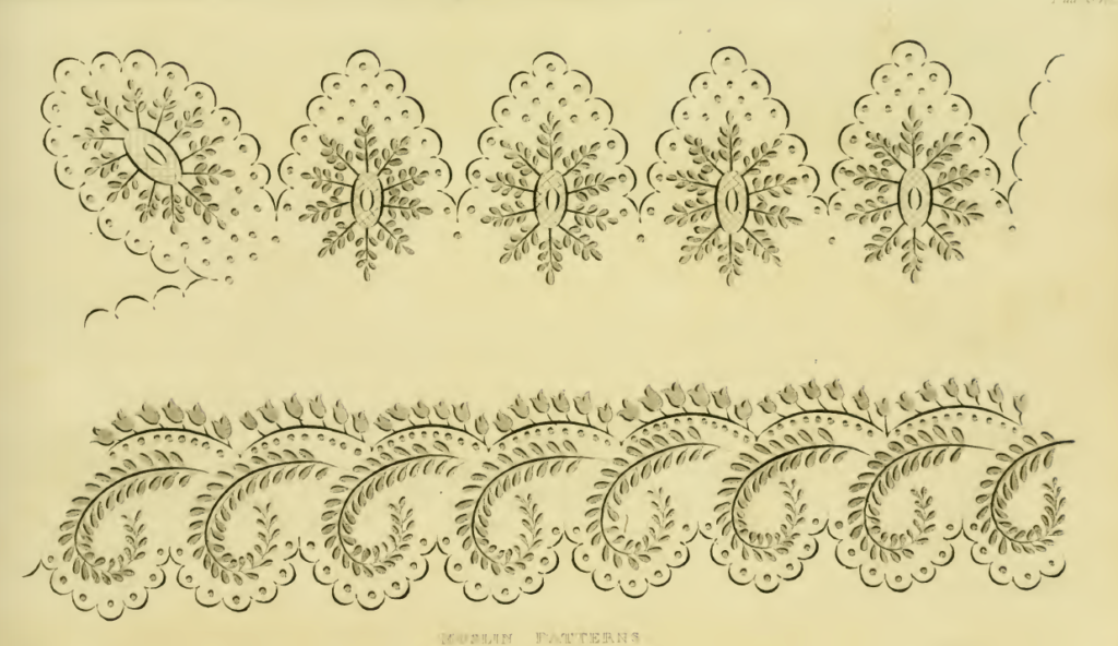 Ackermann's Muslin Patterns June 1816