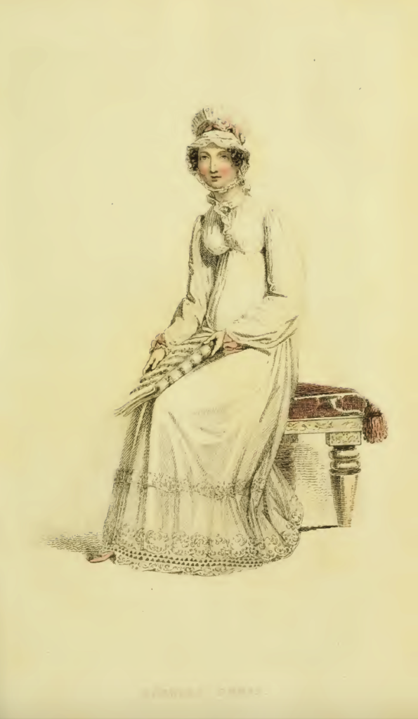 Ackermann's July 1816 plate 5: Morning Dress