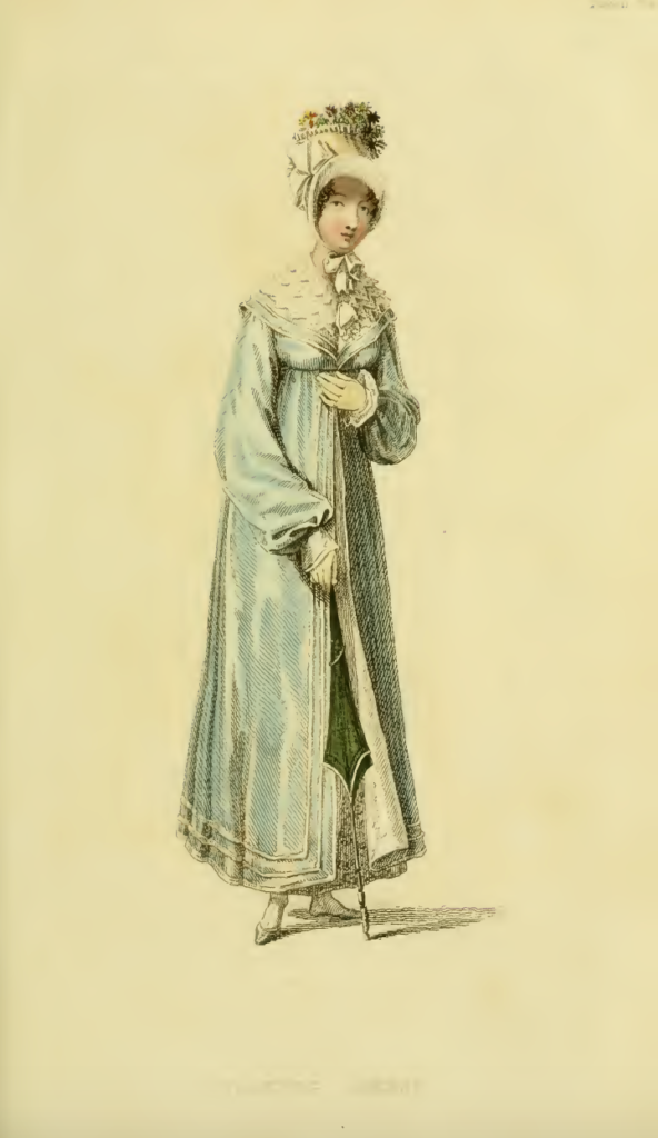 Ackermann's August 1816, plate 11: Walking Dress