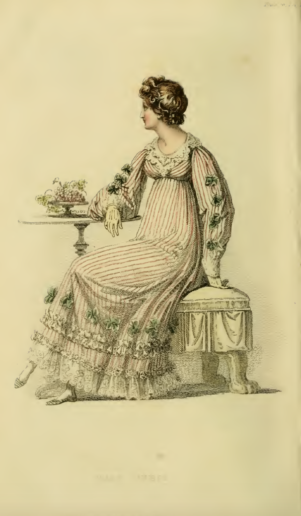 Ackermann's Repository September 1816, plate 16: Half Dress