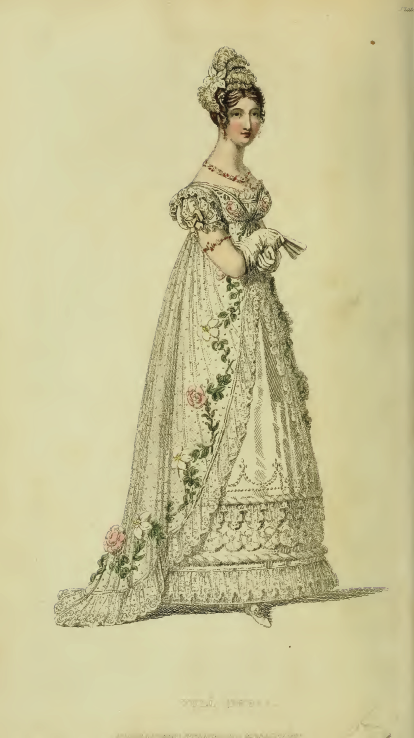 Ackermann's January 1817, plate 4: Full Dress
